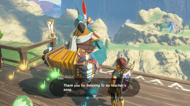 Kass from Breath of the Wild